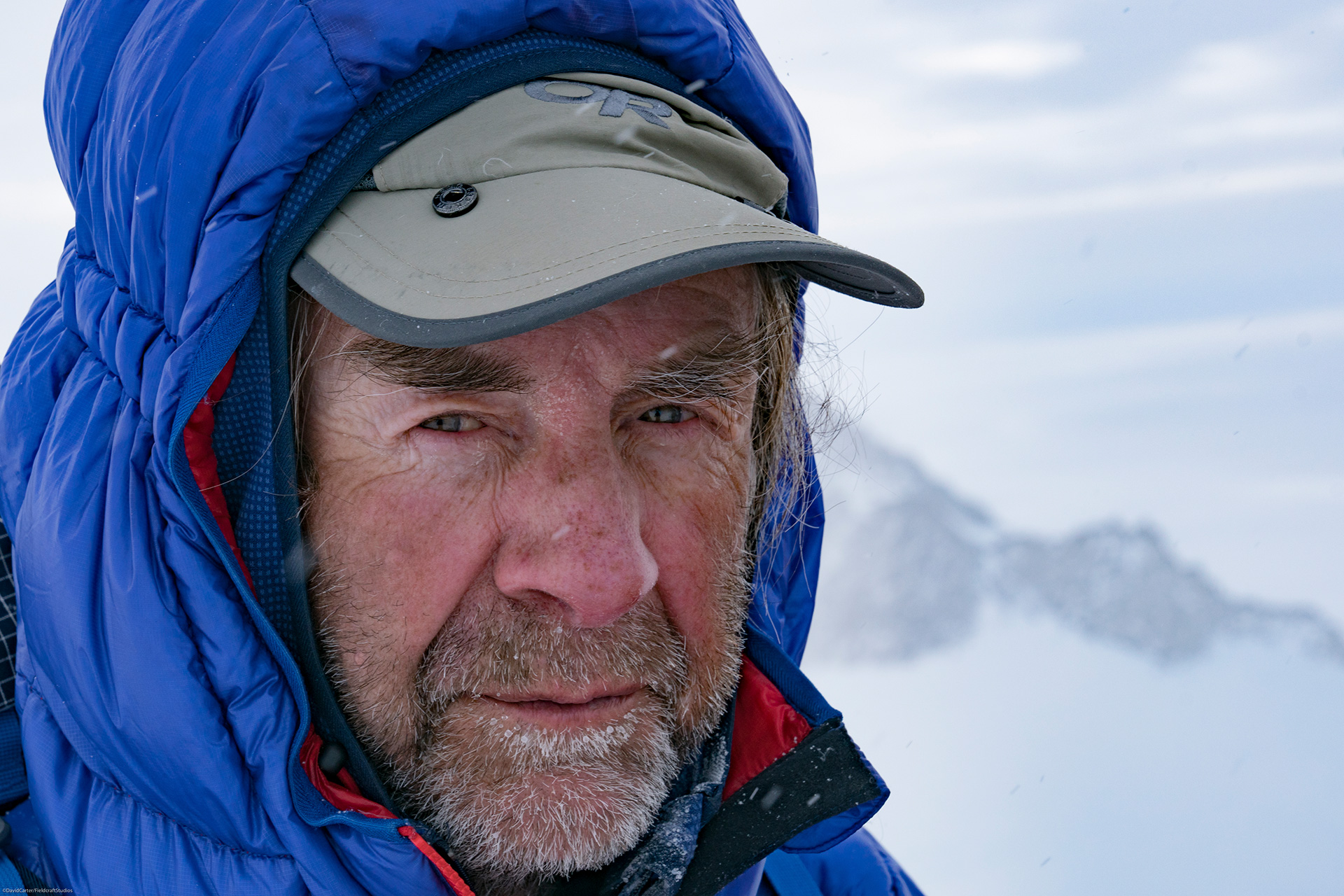 Fieldcraft Studios filming Sir Ranulph Fiennes in Antarctica