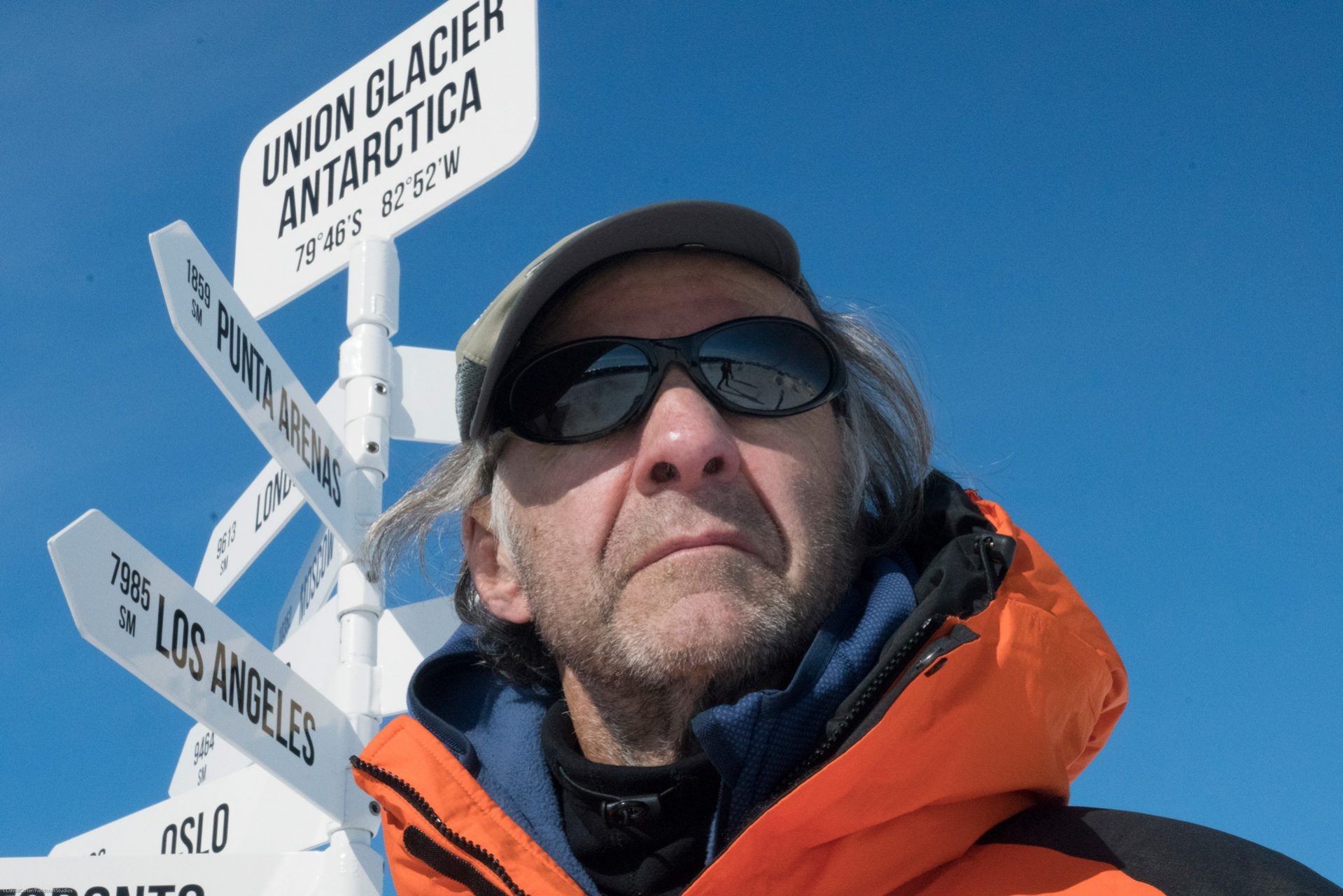 Sir Ranulph Fiennes in Antarctica with Fieldcraft Studios